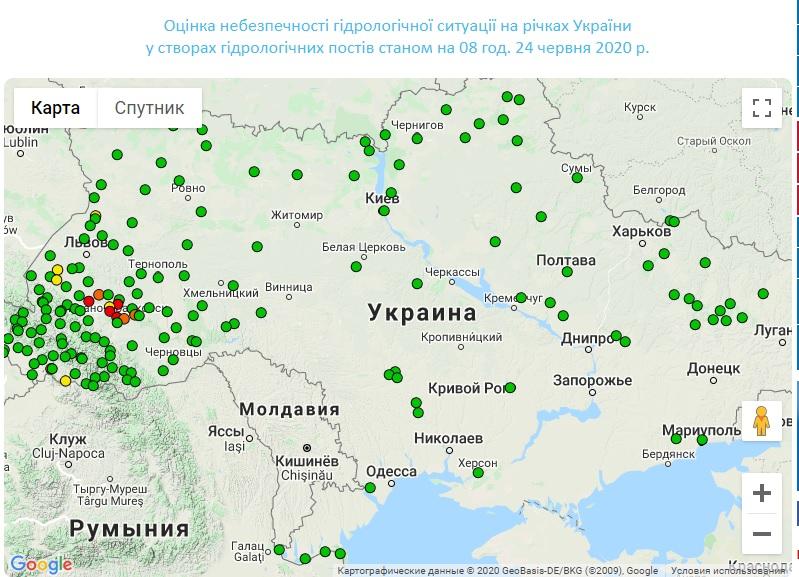 Шмигаль назвав ситуацію на заході України через затоплення критичною - Шмигаль, негода, Денис Шмигаль - 24 karpaty5