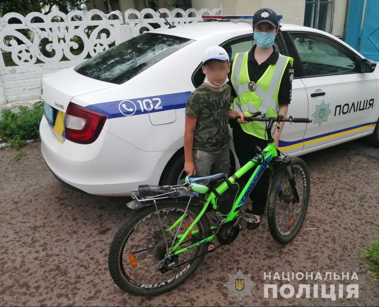 11-річний хлопчик з Києва відправився у мандри на велосипеді до сусідньої області - Дитина - 24 makarov