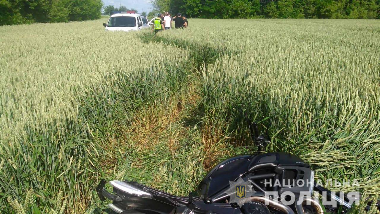 На Київщині продаж мотоцикла обернувся зухвалою крадіжкою - Ставище, крадіжка - 24 moto2 1