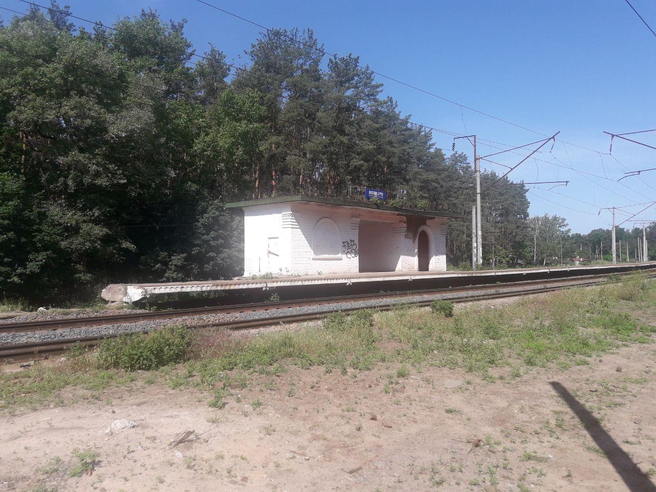На станції Лісова Буча знесли стару платформу - Погляд - IMG 20200618 141556 043
