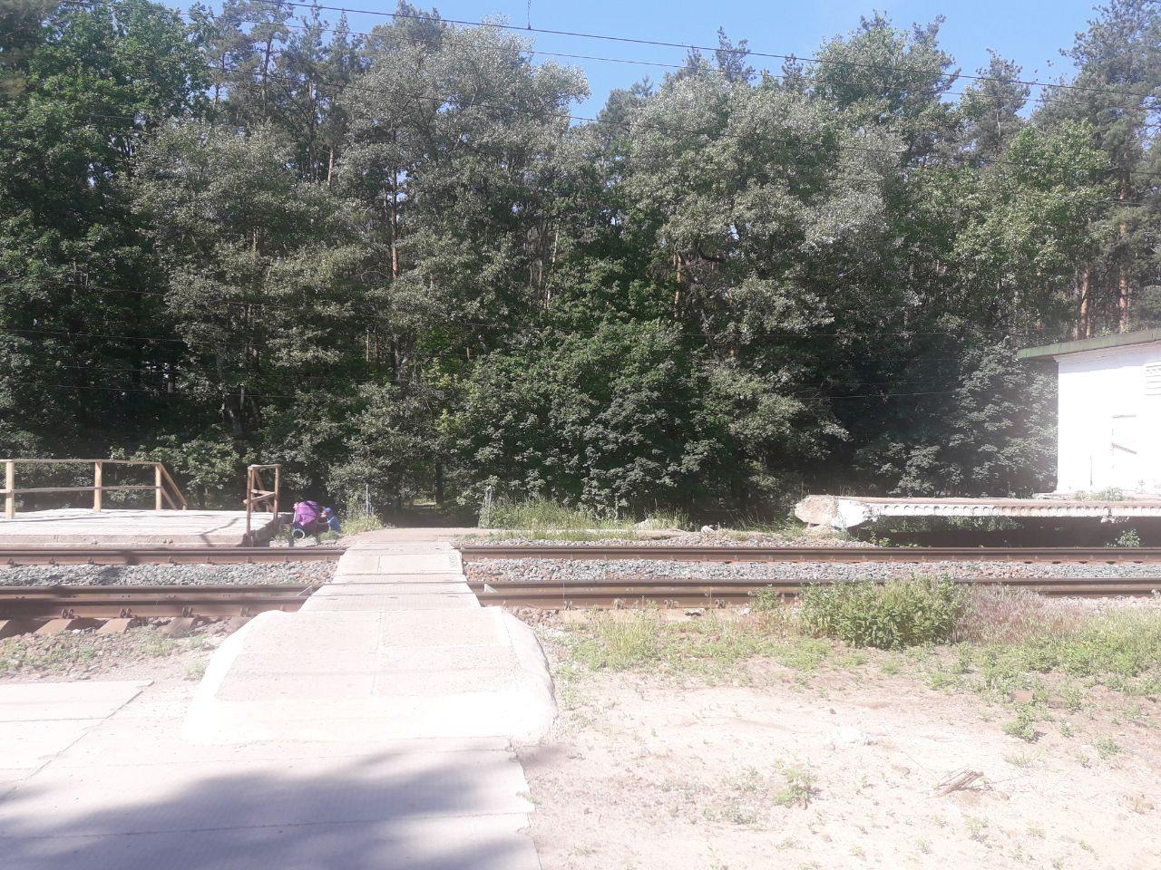 На станції Лісова Буча знесли стару платформу - Погляд - IMG 20200618 141559 164