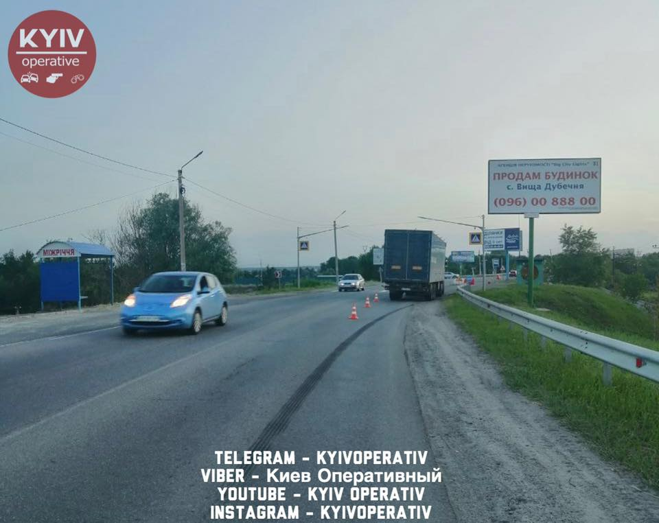 Аварія на Вишгородщині: шукають свідків - Хотянівка, Київ, ДТП, Вишгород, Аварія - Poshuk1
