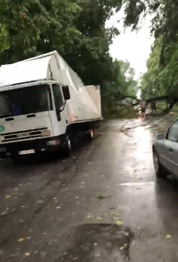У Глевасі на Васильківщині негода наробила лиха -  - Snymok ekrana 385
