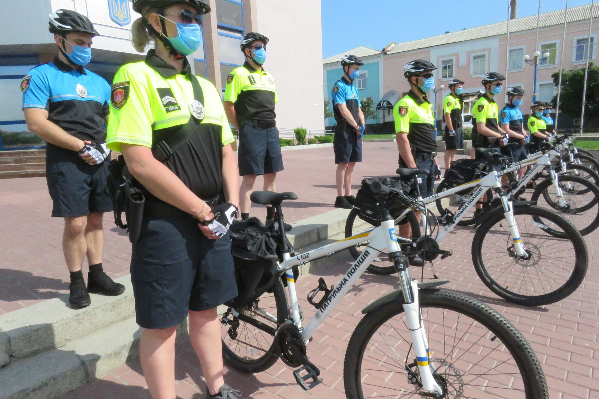 У Білій Церкві започаткували поліцейські велопатрулі - Біла Церква - Velopatrul 2000x1333
