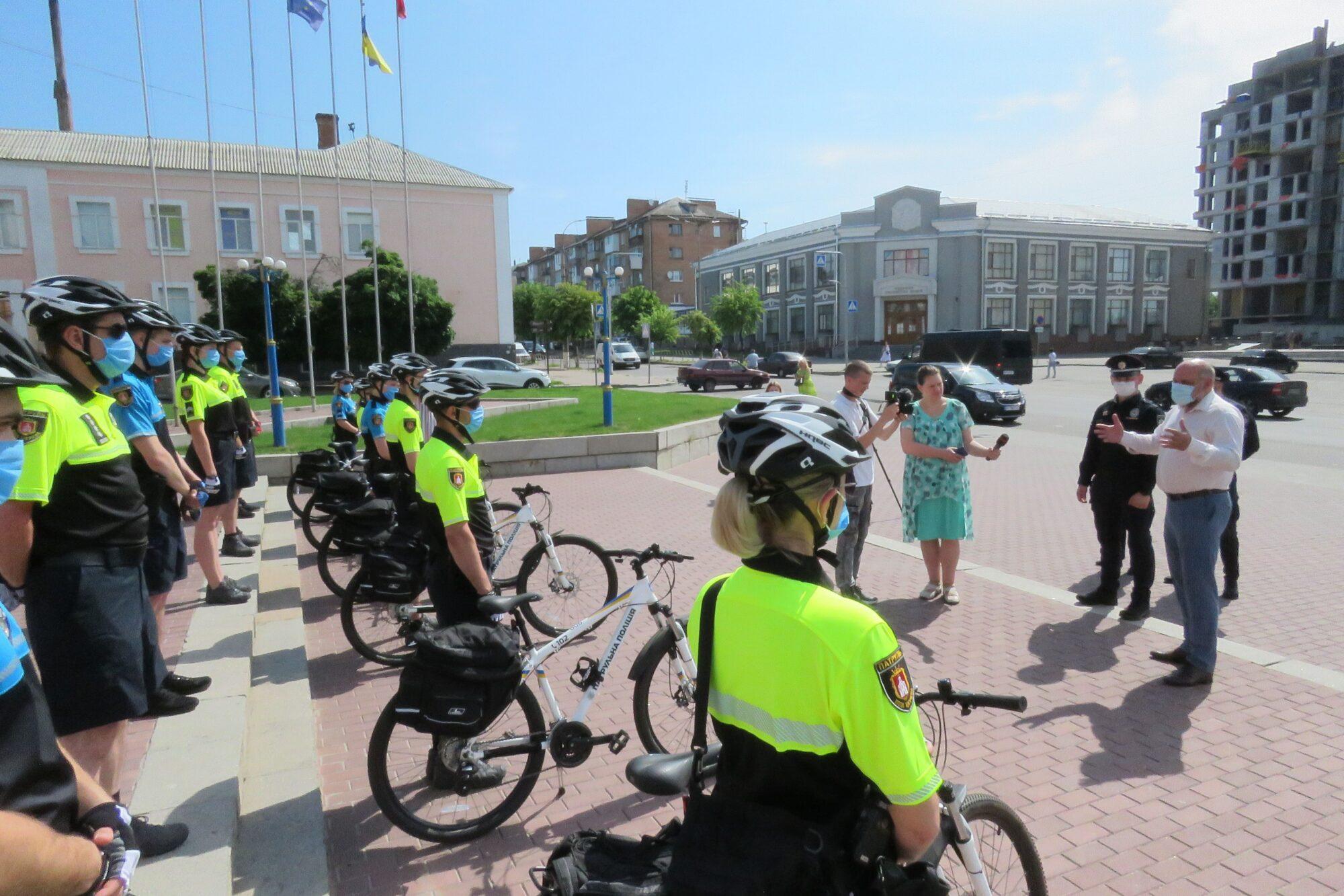 У Білій Церкві започаткували поліцейські велопатрулі - Біла Церква - Velopatrul2 2000x1333