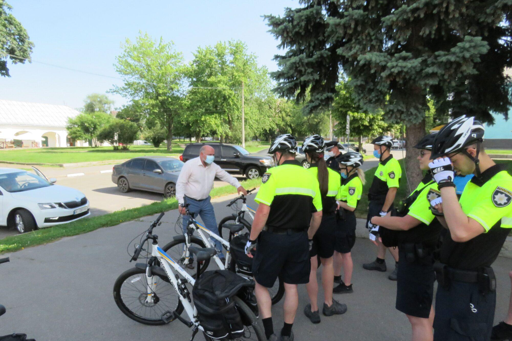 У Білій Церкві започаткували поліцейські велопатрулі - Біла Церква - Velopatrul4 2000x1333