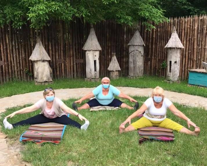 Практики йоги у Вишгородському музеї - київщина, Вишгород - joga3 ob