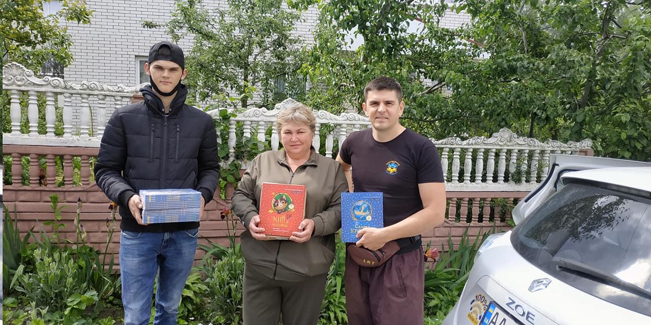На Вишгородщині поповнились шкільні бібліотеки - Книги, київщина, Вишгородський район - knygy1