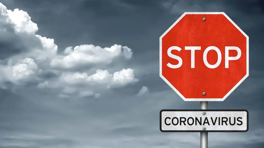 Польща закрила авіасполучення з  Україною -  - koronawirus znak stop