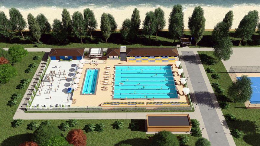 """У Броварах планують збудувати басейн під відкритим небом - парк """"Перемоги"""", Басейн - pool 1"""