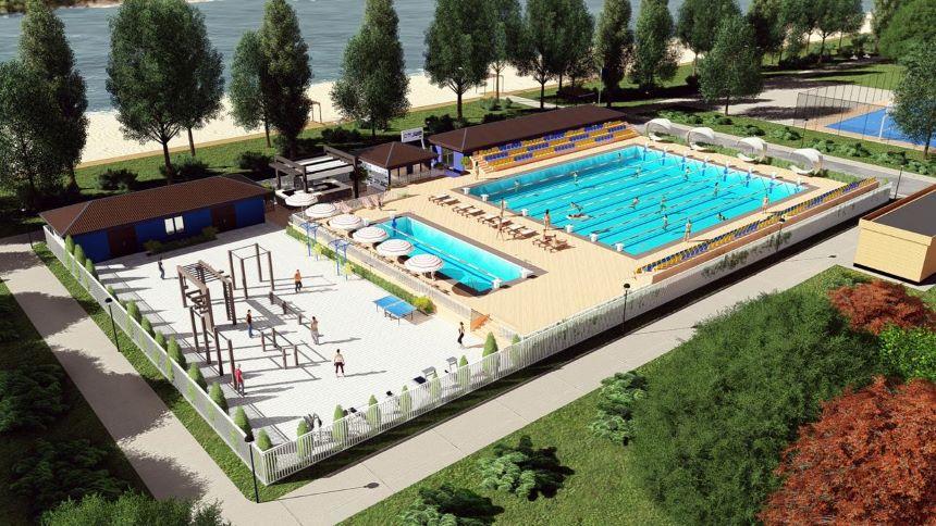 """У Броварах планують збудувати басейн під відкритим небом - парк """"Перемоги"""", Басейн - pool 2"""