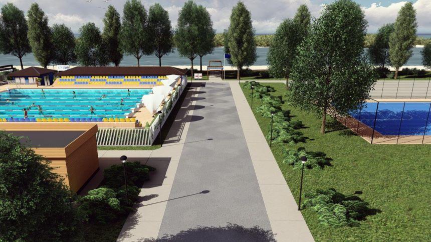 """У Броварах планують збудувати басейн під відкритим небом - парк """"Перемоги"""", Басейн - pool 4"""