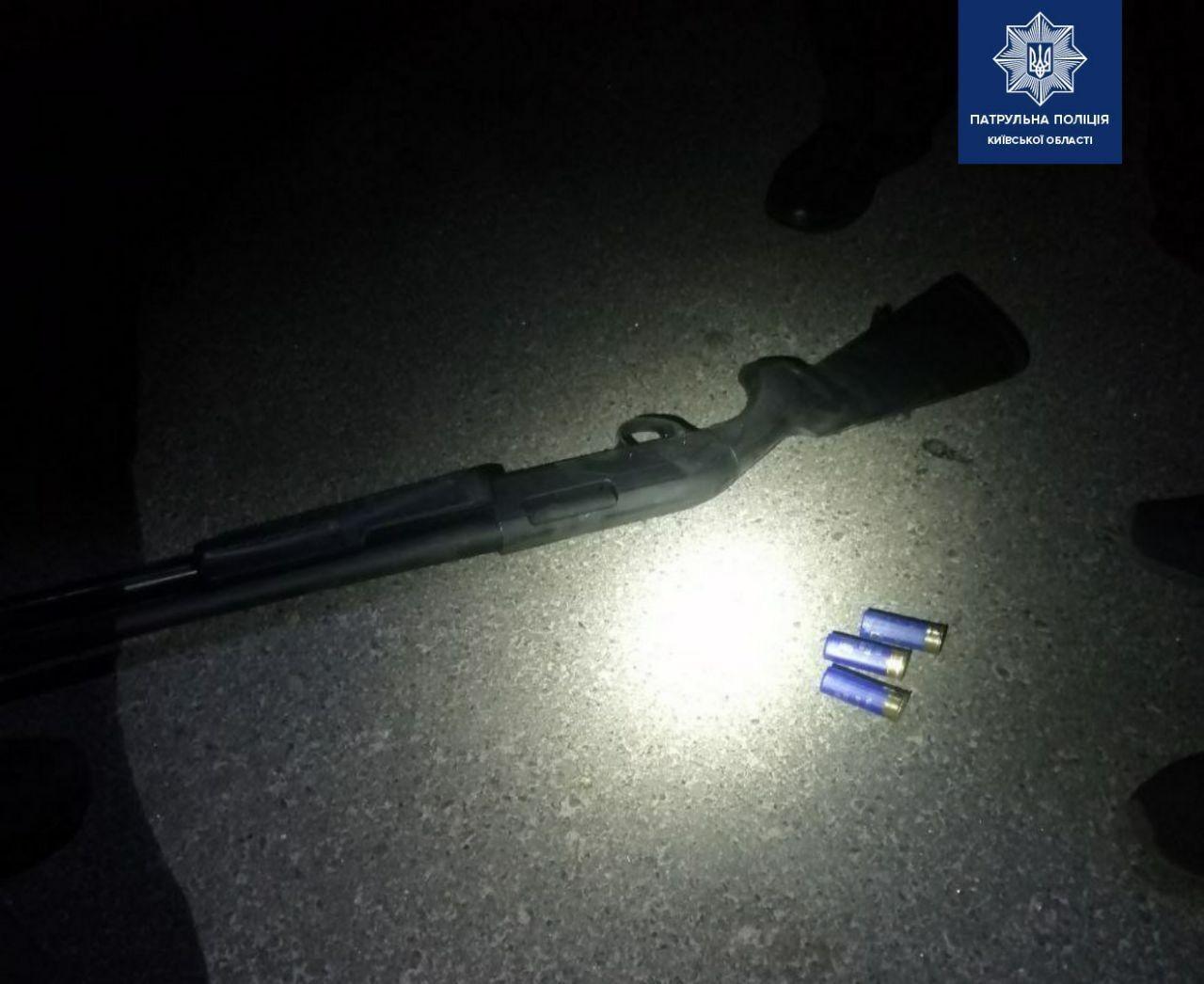 На Київщині поліція затримала чоловіка з рушницею - рушниця, Петропавлівська Борщагівка - rushnytsya PB