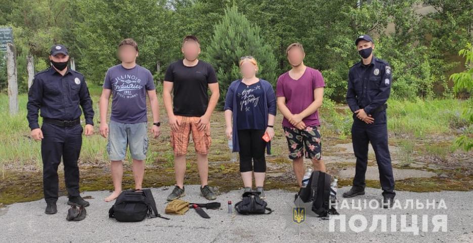 Шістьох туристів-нелегалів спіймали в зоні ЧАЕС - Чорнобиль, туризм - salkera