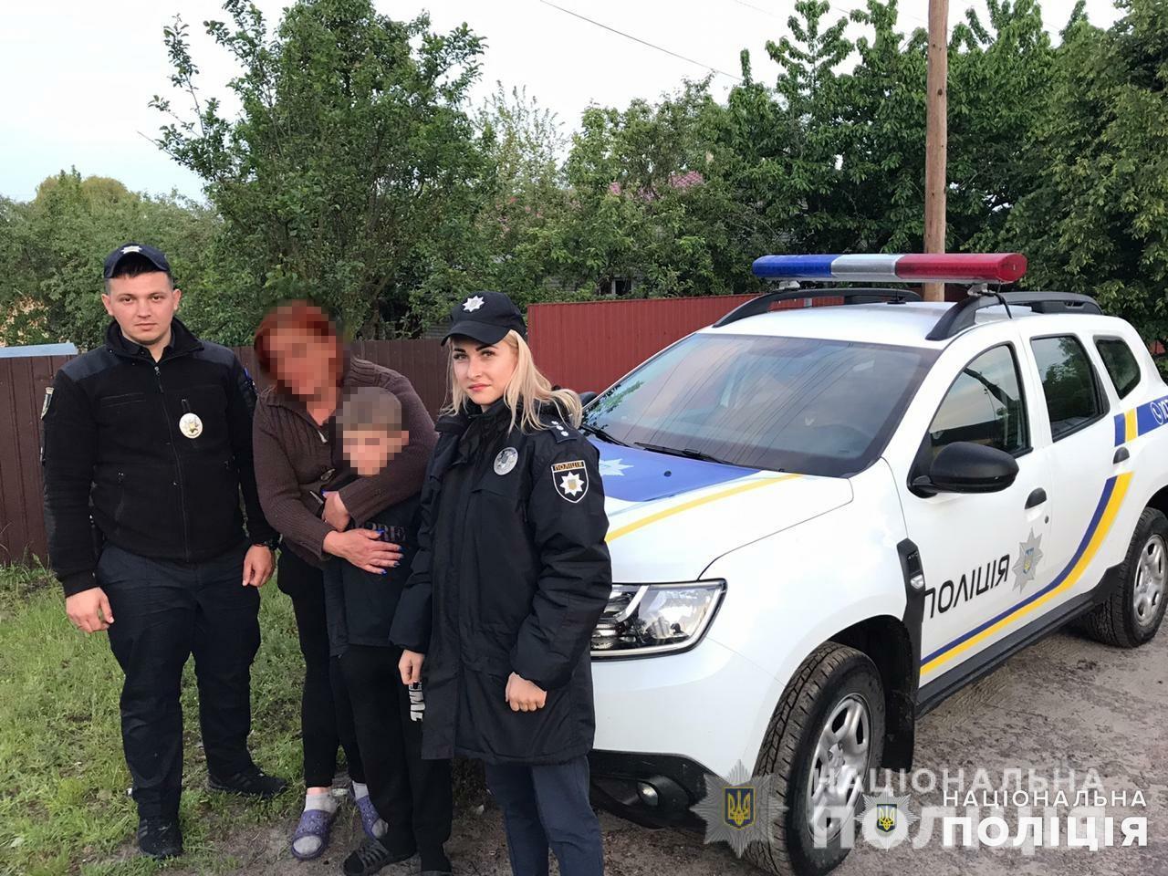 Втік через сварку: на Макарівщині вночі шукали 10-річного хлопчика -  - synmakariv1