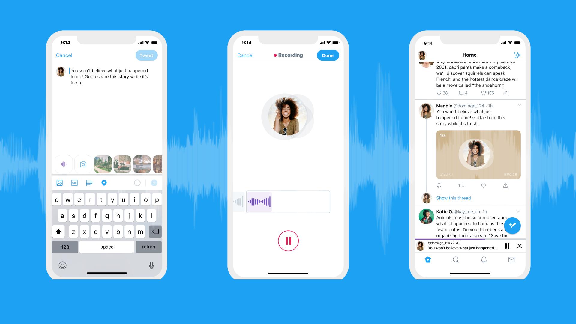 У Twitter з'являться голосові повідомлення - iOS - twitter poglyad 1