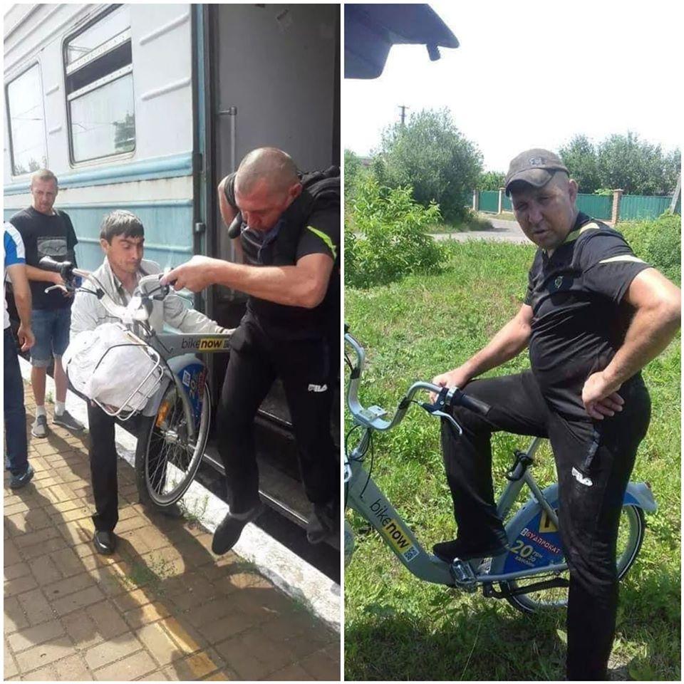 Житель Березані викрав велосипед із громадського прокату BikeNow - крадіжка, велосипедисти, велосипед, Березань - 106915333 1710190162480203 7031833925105533137 o