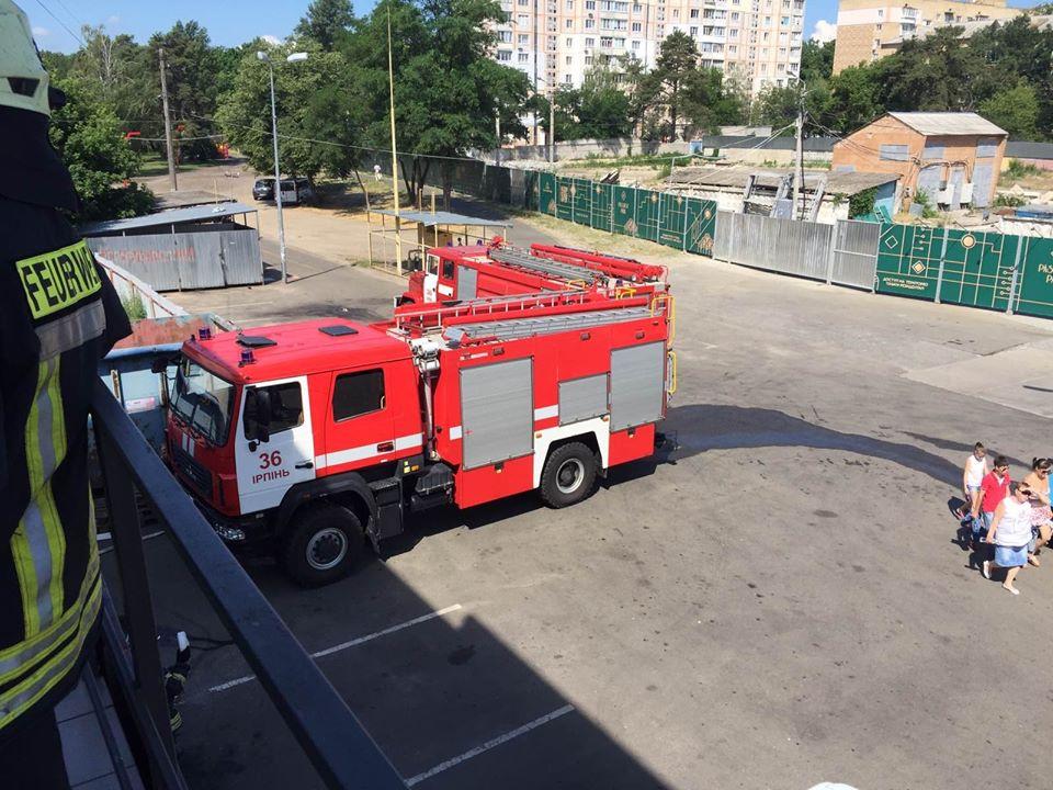 У супермаркеті в центрі Ірпеня сталася пожежа - супермаркет, еко - 106993426 663919270864890 5918914439866614618 o