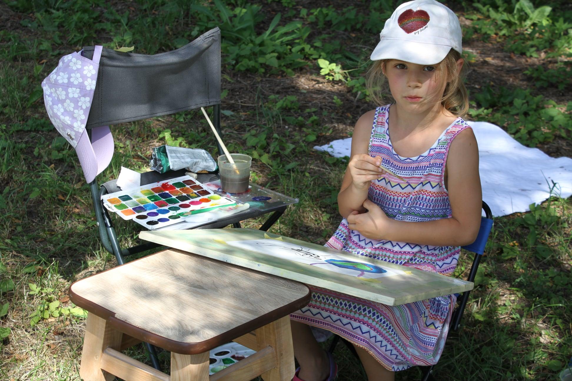І дорослі, і малі: пленер художників на Васильківщині -  - 107555050 738409423576103 7625336401283810881 o