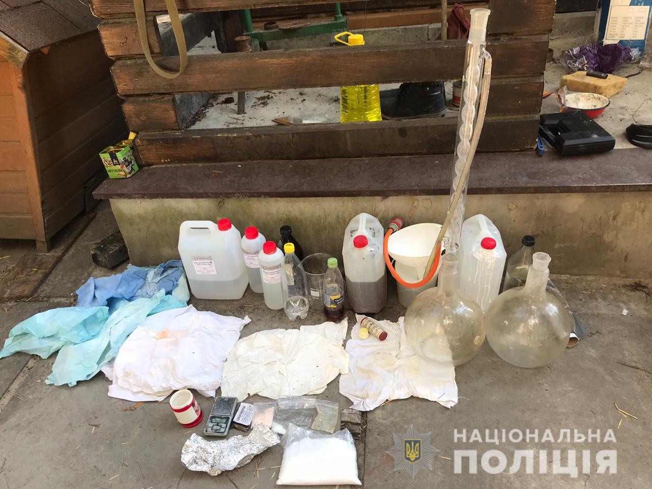 Амфетамін домашнього виробництва виготовлявся на Васильківщині -  - 107801301 3111928128862338 3419539741493559954 o