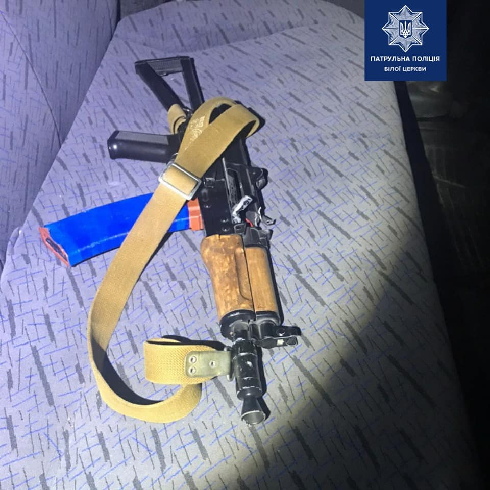 У Білій Церкві затримали п'яного чоловіка, який стріляв зі зброї - Патрульна поліція Білої Церкви, зброя, Біла Церква - 108135982 1716120078555045 6961678367789228458 n