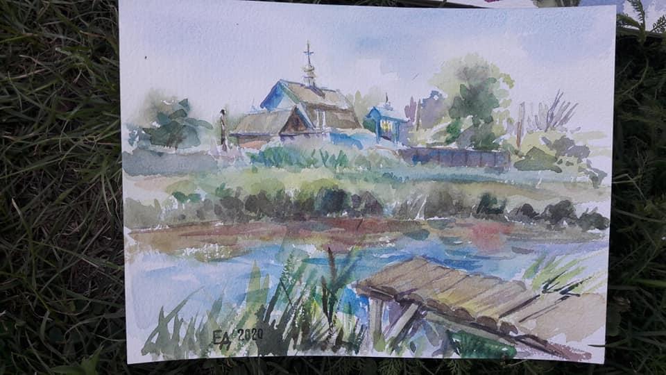 І дорослі, і малі: пленер художників на Васильківщині -  - 108950417 3111892332199060 2369618319897611193 n