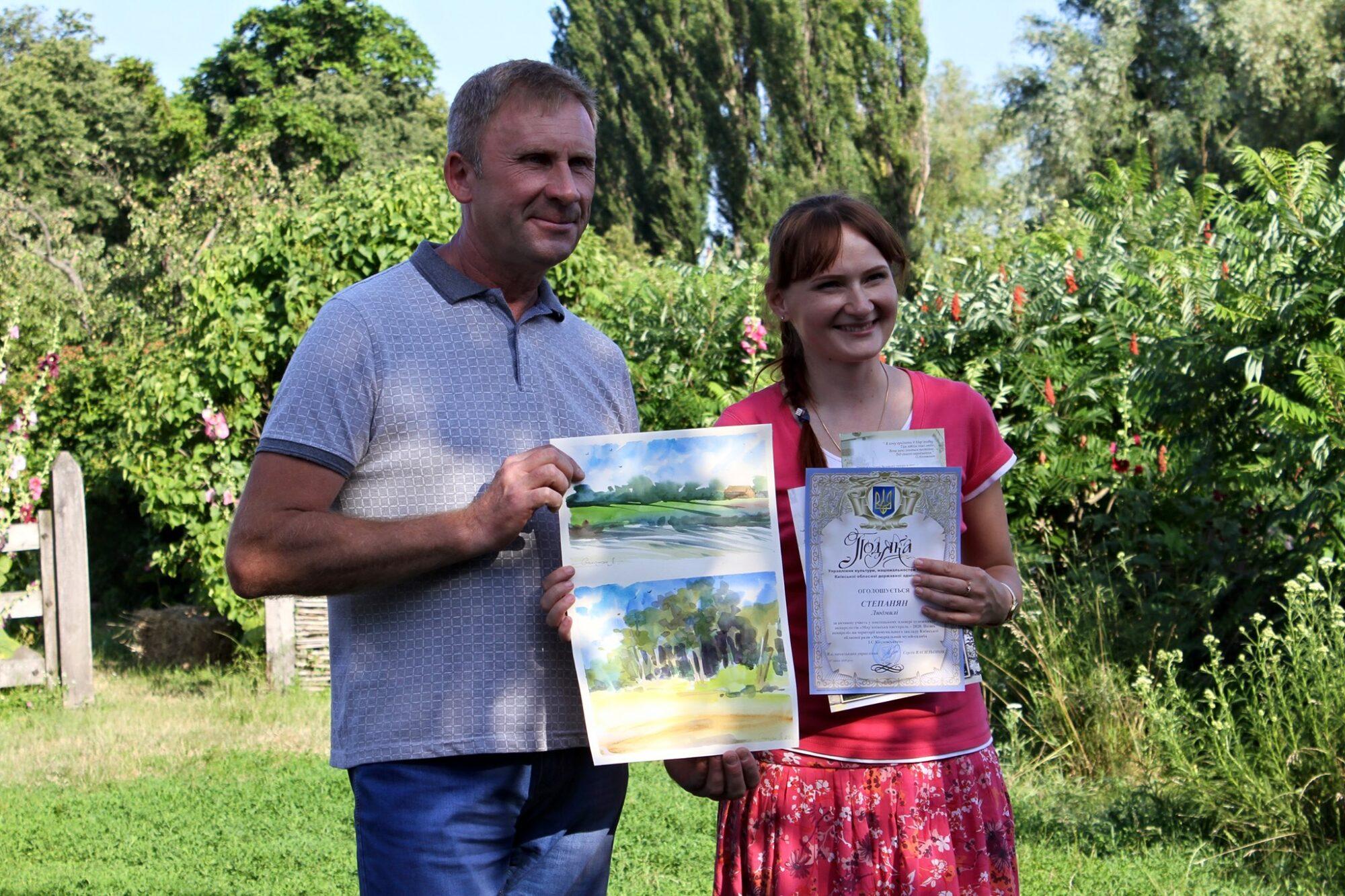 І дорослі, і малі: пленер художників на Васильківщині -  - 109626482 2643266412653330 4744176083714530301 o 2000x1333
