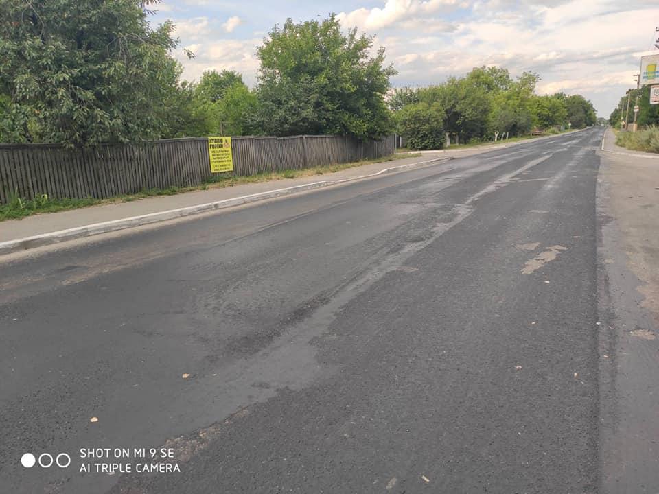 У Бишеві нещодавно відремонтована дорога знову зіпсована - траса, дорога, Бишів, автодорога - 31 doroga 1