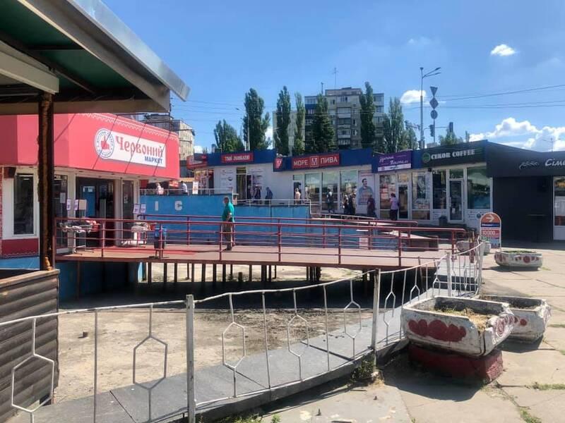 На столичній Борщагівці демонтують кіоски - Погляд, МАФи, Київ - 5efdcb534c88f