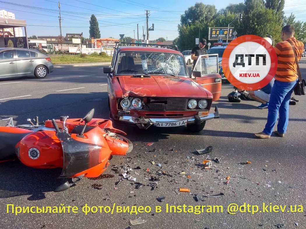 У Вишневому водій збив мотоцикліста -  - EAF27E7F D95A 46D4 8DC1 3E156A687D62