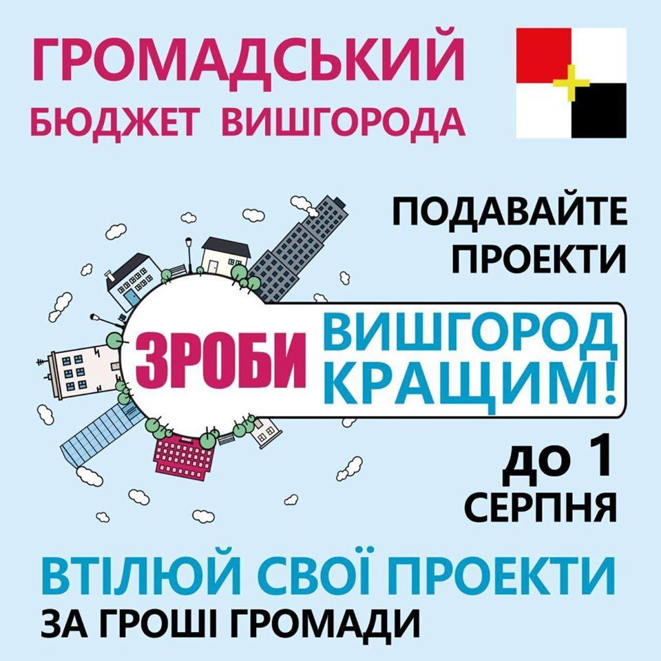 Формується громадський бюджет Вишгорода-2020 - міська рада, київщина, Громадський бюджет, Вишгород - Grom byudzhet 1