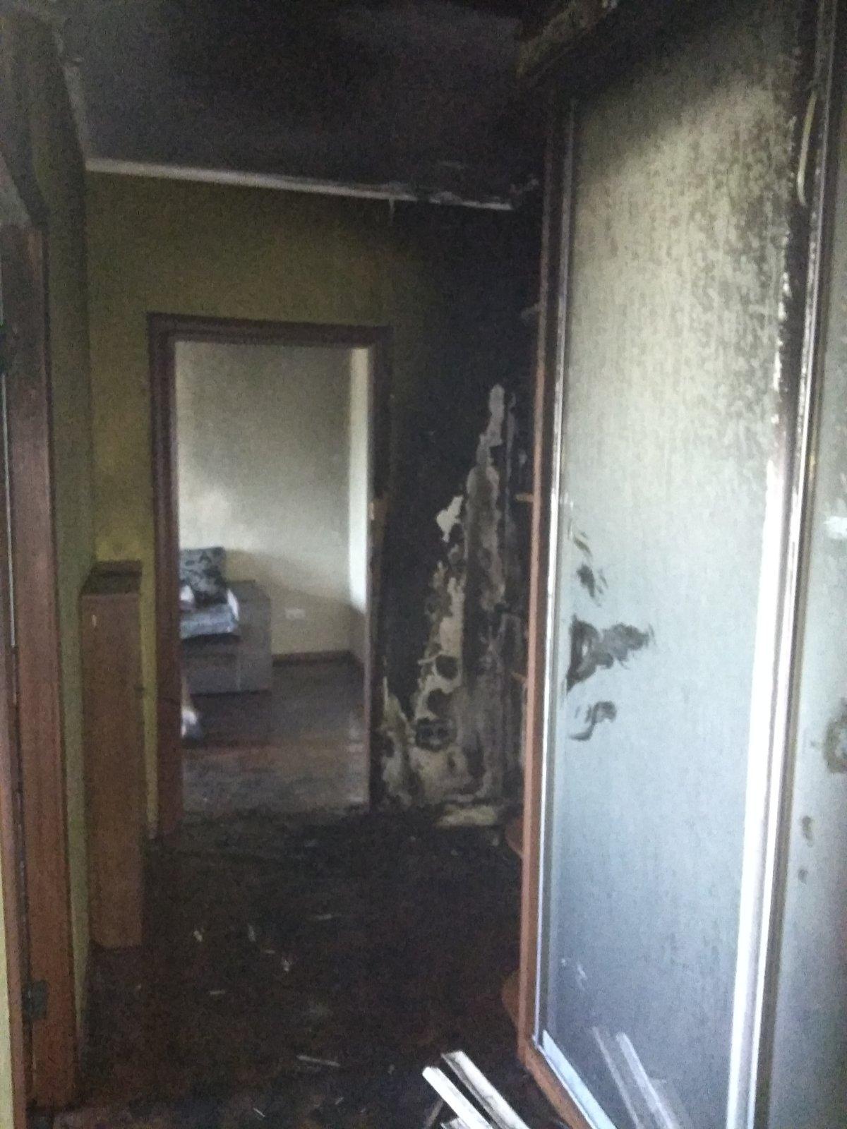 В багатоповерхівці Обухова загасили пожежу -  - IMG 8ac1bc6606857b91d9e9068a1656c312 V