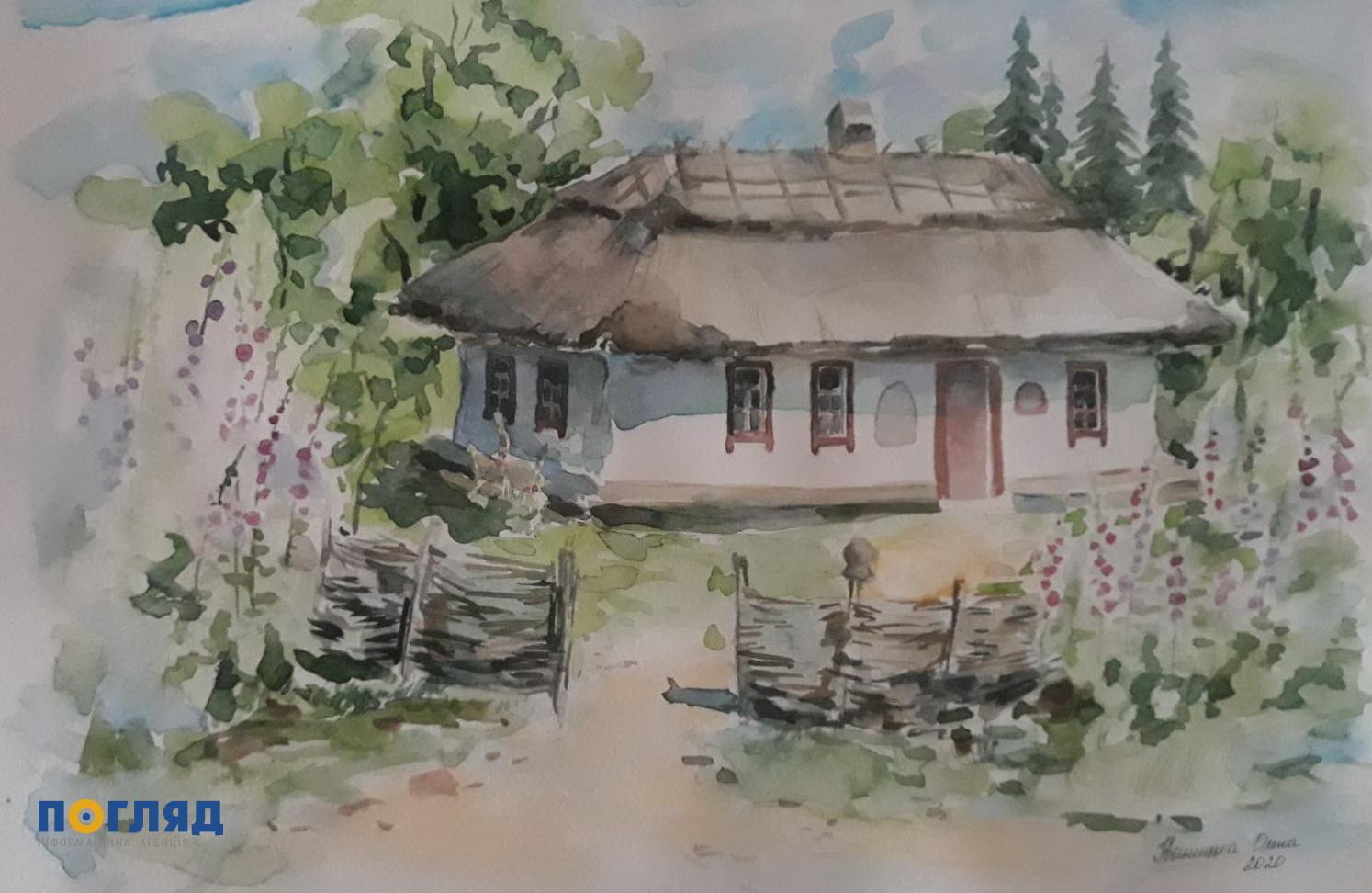 І дорослі, і малі: пленер художників на Васильківщині -  - IMG e42782faa075605ff009e1c7bc7b39a7 V