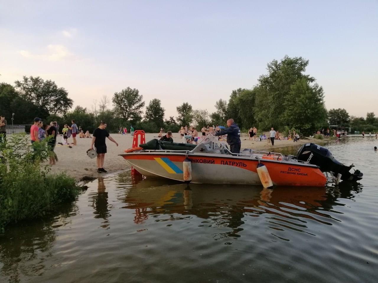 У Києві в Дніпрі потонув молодий хлопець - тіло, Київ - IMG 20200707 090247 410
