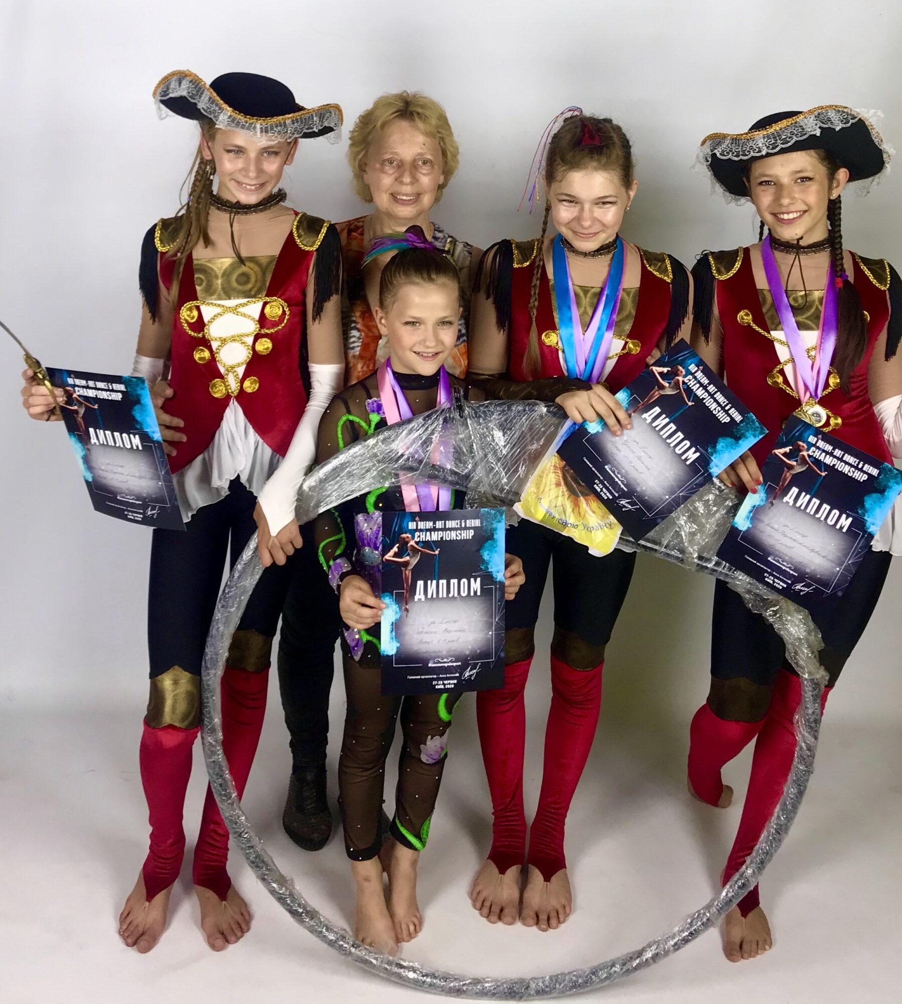 Циркові акробатки з Василькова перемогли на всеукраїнському чемпіонаті -  - IMG 6921 1798x2000