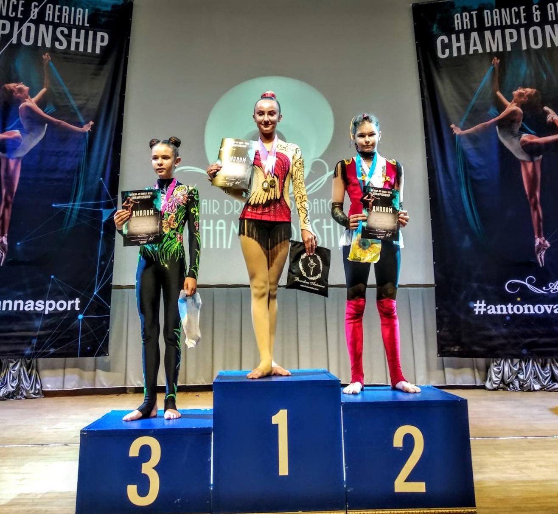 Циркові акробатки з Василькова перемогли на всеукраїнському чемпіонаті -  - IMG 7049
