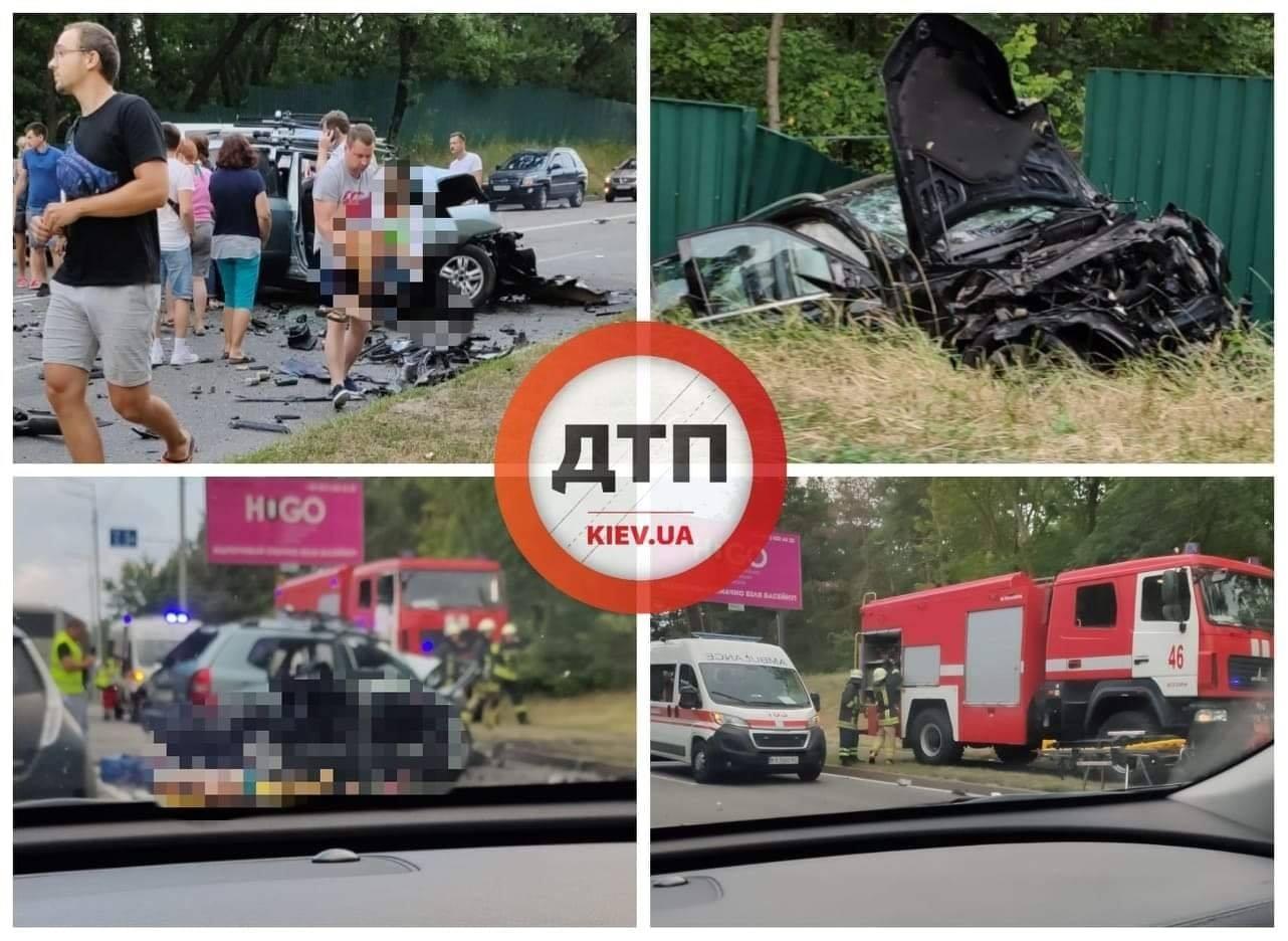 Смертельна аварія на Обухівщині: троє загиблих - смертельна аварія, Поліція, Обухівський район, київщина, зіткнення автівок, ДТП - LNG Obuhiv