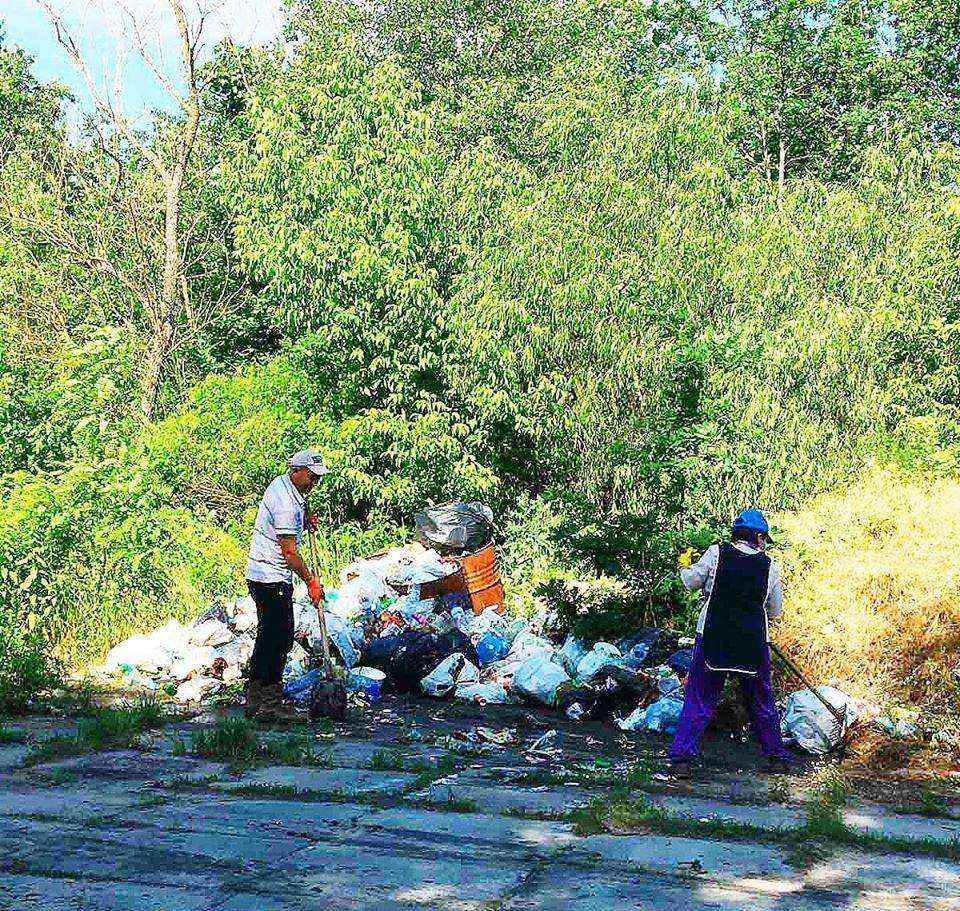На Вишгородщині виявлено «кримінальне» сміттєзвалище - сміттєзвалище, КОДА, київщина, екологія, Демидів, Вишгородський район - Pirnove ekolog1