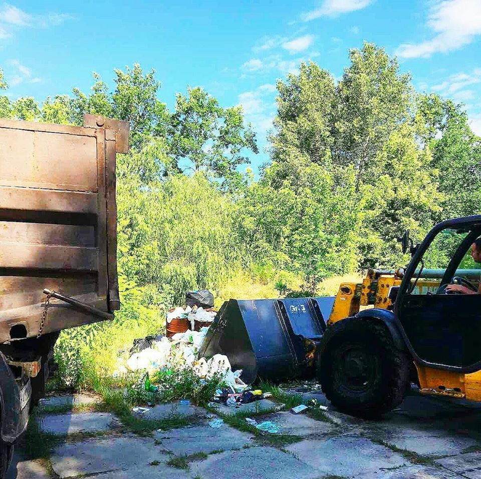 На Вишгородщині виявлено «кримінальне» сміттєзвалище - сміттєзвалище, КОДА, київщина, екологія, Демидів, Вишгородський район - Pirnove ekolog2
