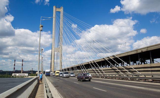 На Південному мосту частково обмежать рух - Ремонт, Південний міст - img 0611 id49135 650x410 1 650x410 1 650x410