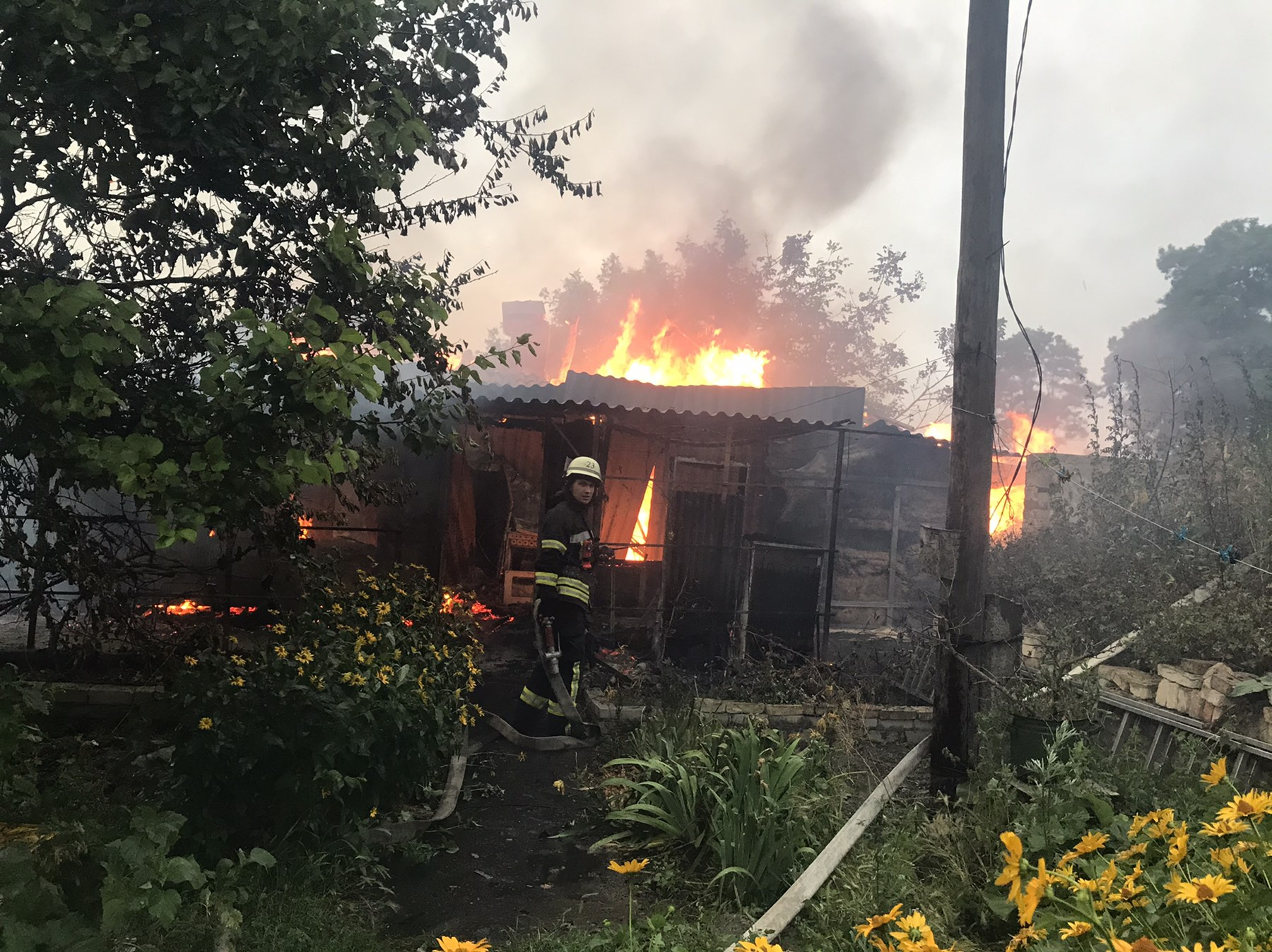 У пожежі на Бориспільщині постраждала дитина - пожежа, Бориспільщина - yzobrazhenye viber 2020 07 08 07 35 24