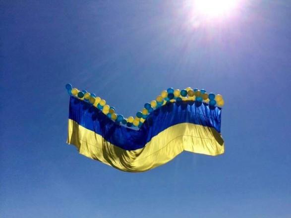У Києві монтують найбільший прапор України - прапор, Державний прапор України - 041e332d04b78608ba233ac0e13ac345112b9ef6