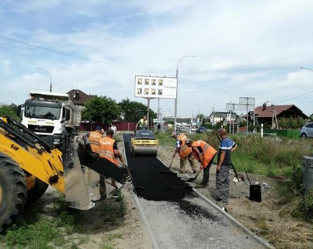 В Ірпінському регіоні на автошляху Р-30 розпочалось будівництво тротуару -  - 116765519 996797940754243 6412967588075249161 n
