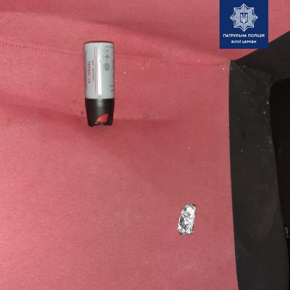 У Білій Церкві виявили водія авто «під кайфом» зі зброєю і наркотиками - наркотики, зброя, Біла Церква - 117226854 1738673082966411 3700733057658093154 n