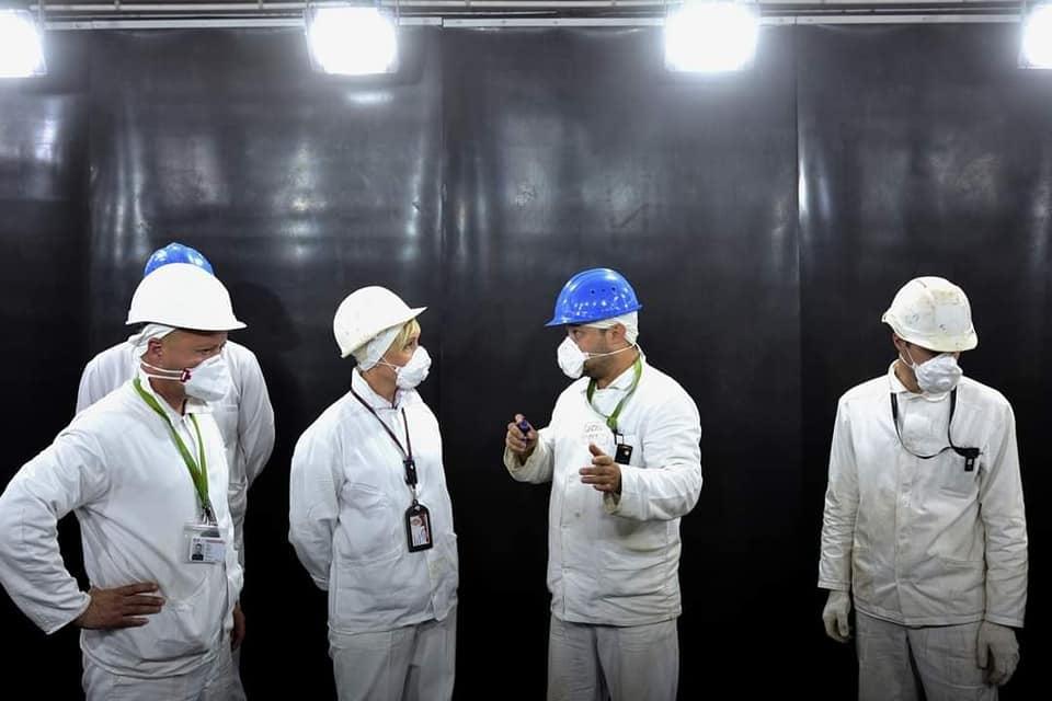 На Чорнобильській АЕС презентували найсучаснішу технологію очищення металу - ЧАЕС - 117699502 3728181633878594 735339311505955712 n