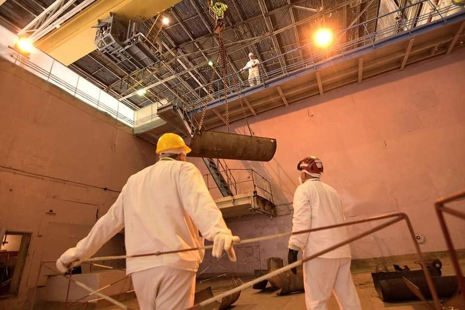 На Чорнобильській АЕС презентували найсучаснішу технологію очищення металу - ЧАЕС - 117727949 3728181787211912 4513154112403824901 n