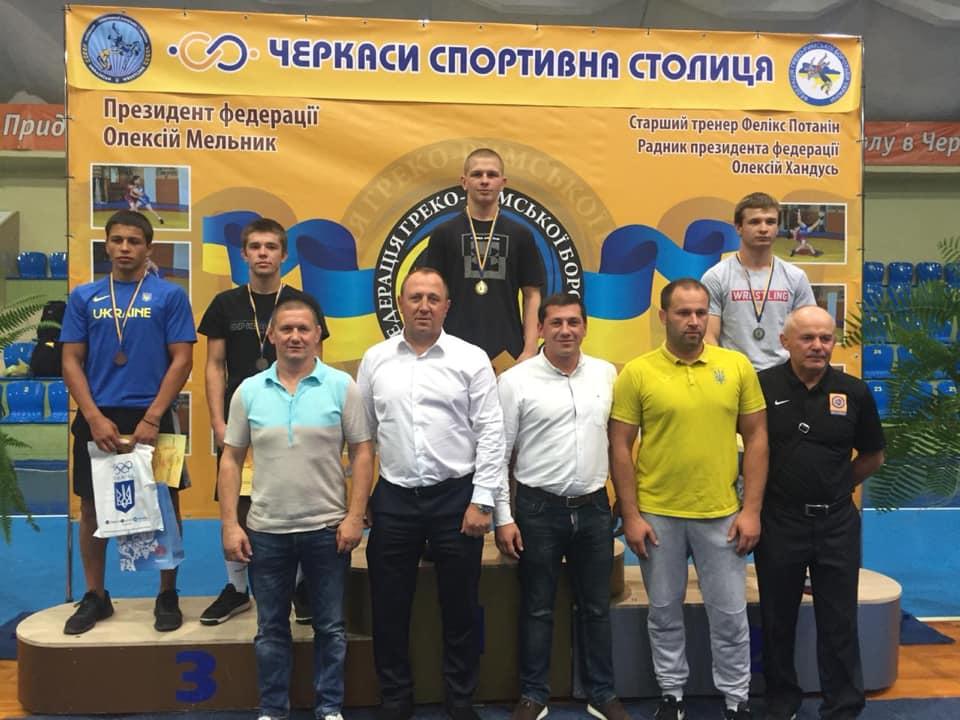 Юніори Київщини - призери всеукраїнського турніру з греко-римської боротьби