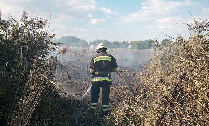 Київщина: за добу згоріло 45 га трав'яного настилу -  - 118207587 3513343778684425 5908075613633714361 o
