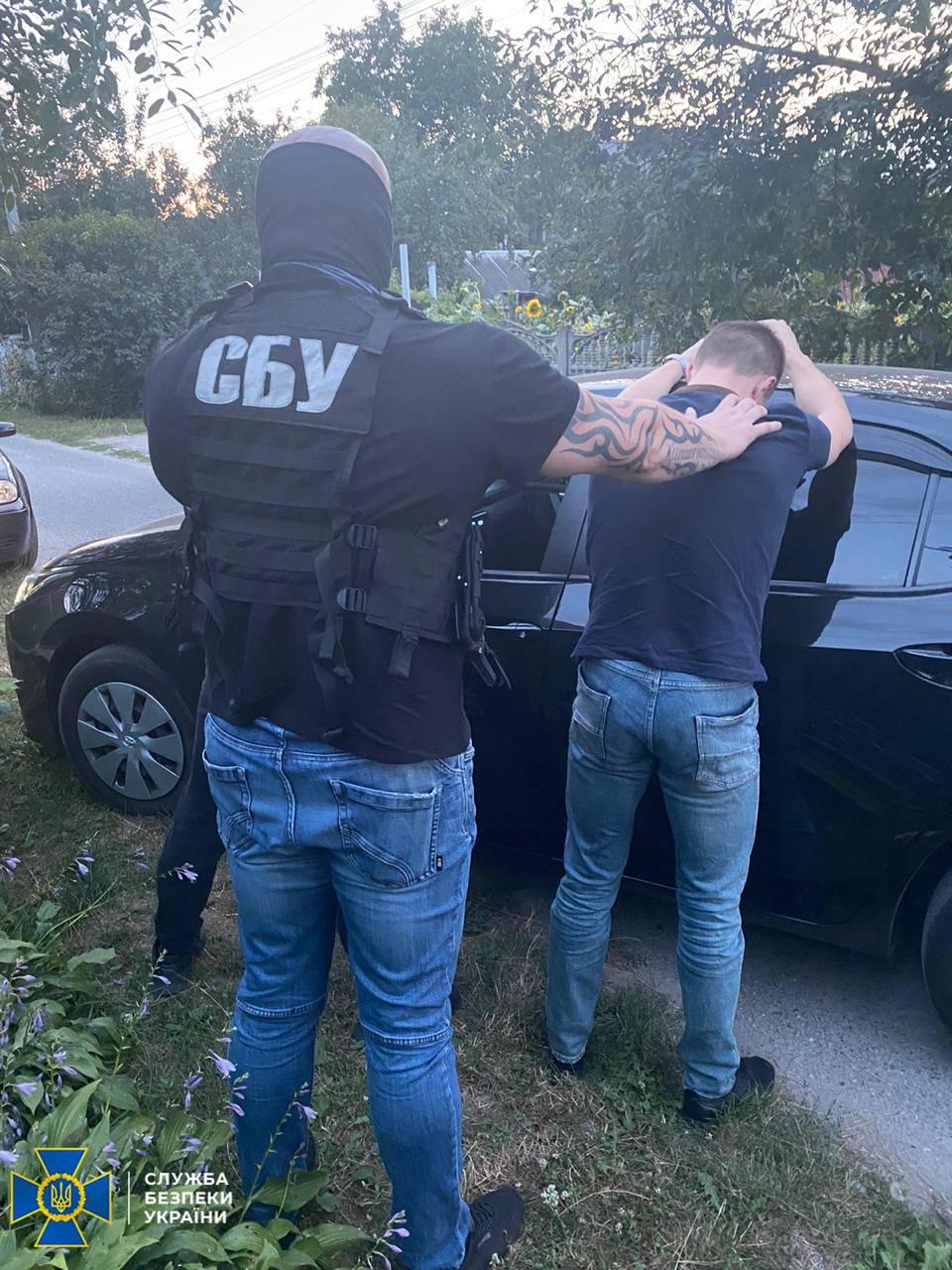 У Києві на хабарі затримали двох посадовців обласної поліції -  - 118295682 2386335845002929 268199924138575519 o