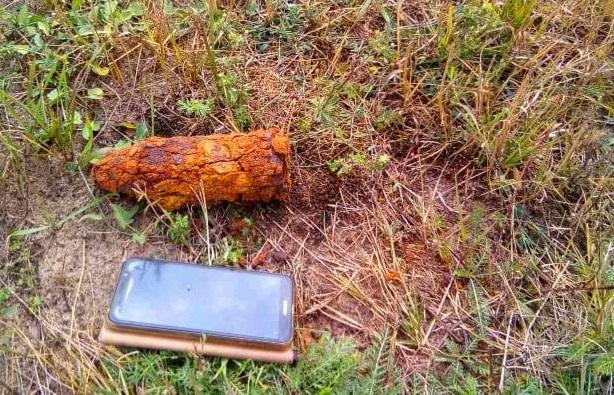 На Київщині під час випасання худоби знайшли артилерійський снаряд -  - 118510759 3362433093777937 2972929085256145560 n